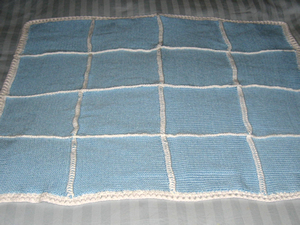 """Heirloom"" Baby Blanket. Click here for a larger image."